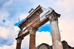Ruines du portique Image libre de droits