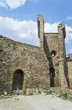 Ruines du vieux château Photo stock