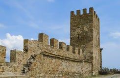 Ruines du vieux château Images libres de droits