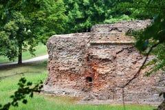 Ruines du vieux fort Photographie stock