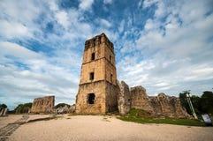 Ruines du vieux Panama photo stock