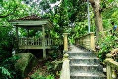 Ruines en île de la Malaisie Images stock