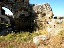 Ruines en millet Image stock