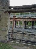 Ruines en parc naturel Photographie stock