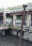 Ruines en parc naturel Photo libre de droits