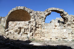 Ruines en salamis Image stock
