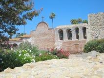 Ruines espagnoles de mission Image stock
