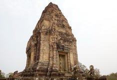 Ruines est de temple de Mebon Images libres de droits