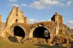 Ruines et ciel bleu Image stock