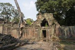 Ruines et temples d'Angkor Vat Siem Reap, Cambodge Photo stock