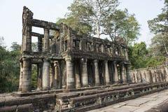 Ruines et temples d'Angkor Vat Siem Reap, Cambodge Photos stock