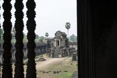 Ruines et temples d'Angkor Vat Siem Reap, Cambodge Photographie stock libre de droits