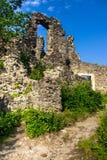 Ruines européennes de château Photo stock