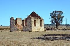 Ruines historiques d'église près de Goulburn, NSW Image libre de droits