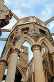 Ruines historiques de l'abbaye du hambey Photographie stock