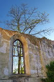 Ruines intérieures d'église Photos libres de droits