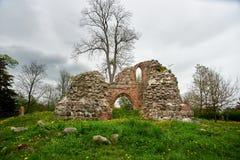 Ruines médiévales Image libre de droits