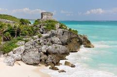 Ruines maya Photographie stock libre de droits