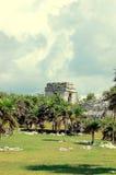 Ruines maya images libres de droits