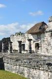 Ruines maya chez Tulum au Mexique Photos stock