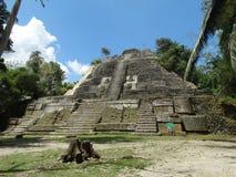 Ruines maya de Lamanai Photo libre de droits