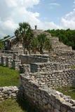 Ruines maya de Xcambo image libre de droits