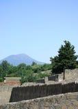 Ruines - montagne Photo stock