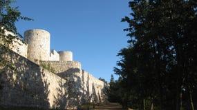 Ruines : murs et châteaux Image libre de droits