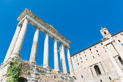 Ruines romaines à Rome Image stock