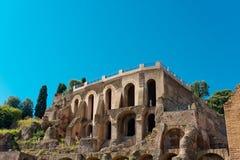 Ruines romaines à Rome, forum Images libres de droits