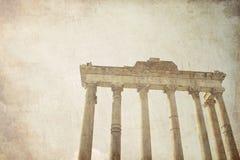 Ruines romaines à Rome, Italie images stock