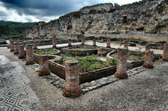 Ruines romaines Image stock