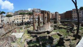 Ruines romaines banque de vidéos