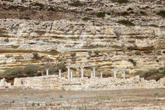 Ruines romaines chez Kourion, Chypre Photo stock