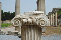 Ruines romaines dans Ephesus, Turquie photo libre de droits