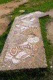 Ruines romaines dans la ville de Jerash Photos stock