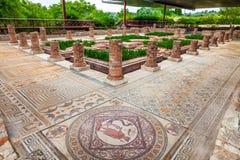 Ruines romaines de Conimbriga Chambre des fontaines dans Conimbriga image stock