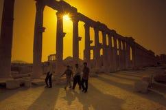 RUINES ROMAINES DE PALMYRA DE LA SYRIE Photographie stock libre de droits