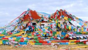 Ruines sur la colline Photographie stock libre de droits