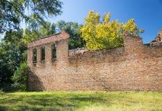 Ruines sur la rue de château Photos libres de droits