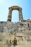 Ruines of Temple of Apollo in antique city of Didyma Stock Photo: Stock Photography