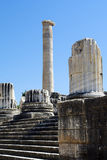Ruines of Temple of Apollo in antique city of Didyma Stock Photo: Royalty Free Stock Image