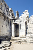 Ruines of Temple of Apollo in antique city of Didyma Stock Photo: Royalty Free Stock Photography