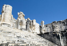 Ruines of Temple of Apollo in antique city of Didyma Stock Photo: Stock Photos