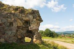 Ruines uniques de château Photos libres de droits