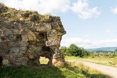 Ruines uniques de château Images stock