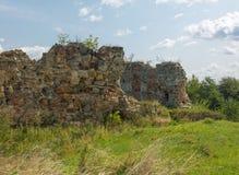 Ruines uniques de château Photo libre de droits