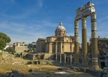 Ruines van Rome Stock Afbeelding