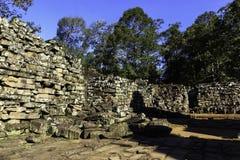 Ruinieren Sie alten Bayon-Steintempel in Kambodscha lizenzfreie stockbilder