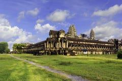 Ruinieren Sie Angkor Wat in Kambodscha stockfotografie